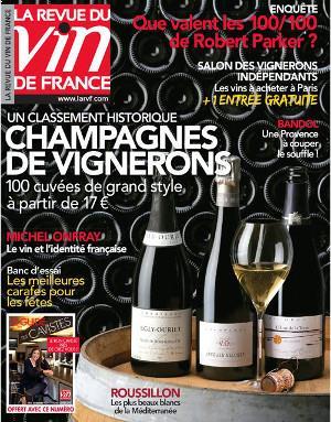 La Revue du Vin de France 596