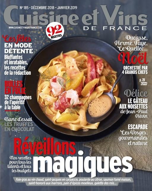 Cuisine et Vins de France 185
