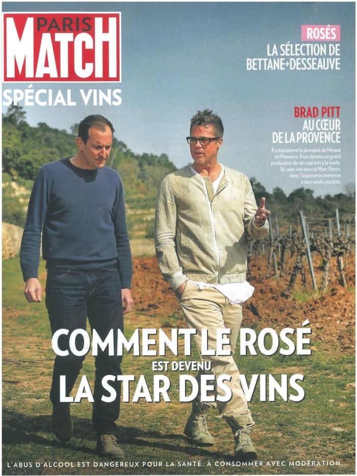 Paris Match Spécial Vin