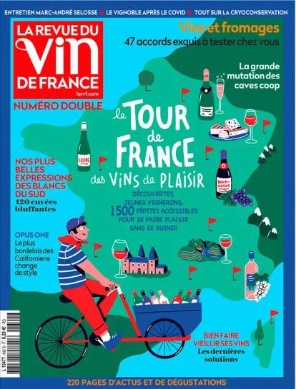Le Tour de France des vins de plaisir