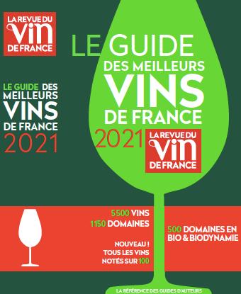 le guide des meilleurs vins de france 2021 - revue vin de france